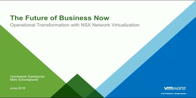 Influencers Panel Series: Key Use Cases for Network Virtualization: How and Why?