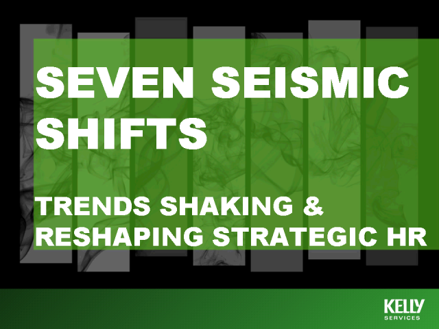 Seven Waves of Change - Trends Shaking and Reshaping Strategic HR