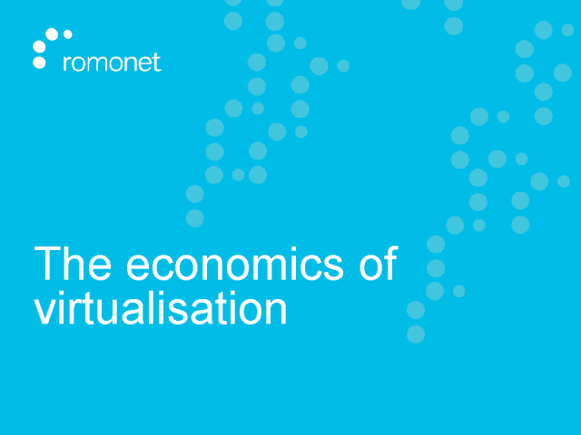Examining the Data Centre Finance & Energy ROI of Virtualization