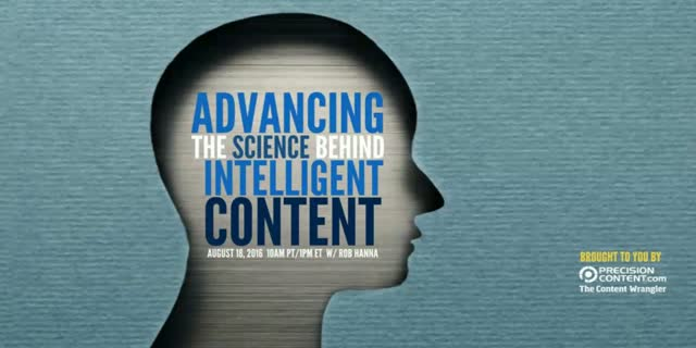 Advancing theScience Behind Intelligent Content
