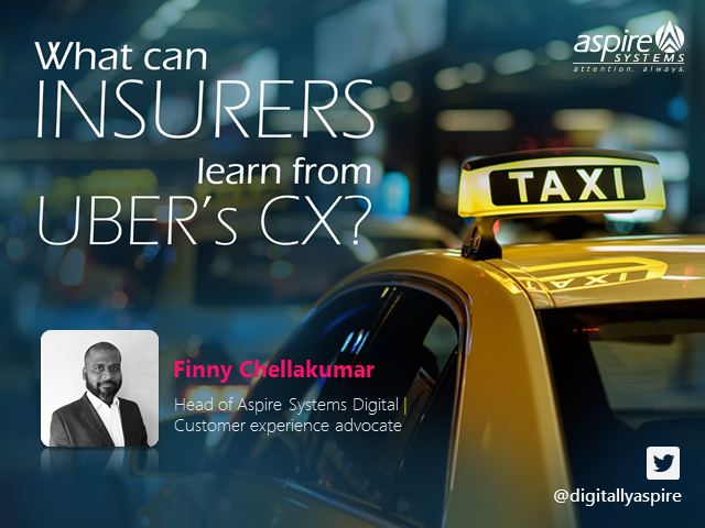 What can Insurers learn from Uber's Customer Experience?