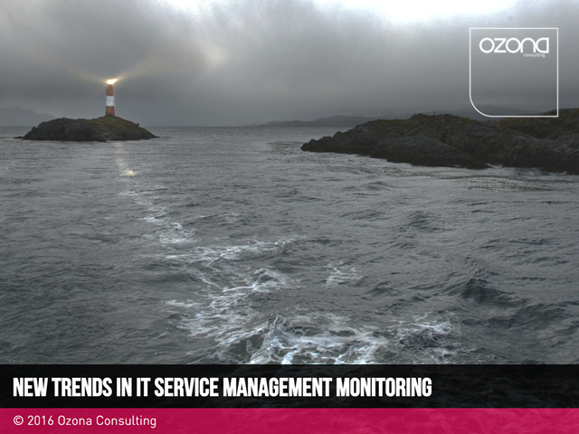 New trends in IT Service Management monitoring