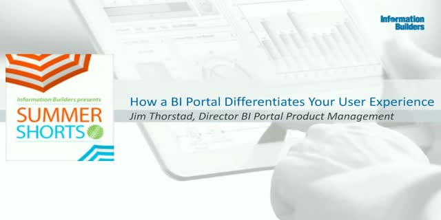How a BI Portal Differentiates Your User Experience