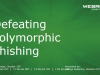 Defeating Polymorphic Phishing