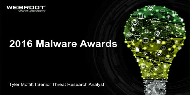 The 2016 Malware Awards