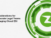 Considerations for Corporate Legal Managing E-Discovery