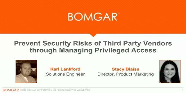 Prevent Security Risks of Third Parties through Managing Privileged Access
