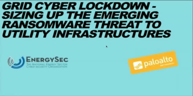 Grid Cyber Lockdown: Ransomware in Critical Infrastructure