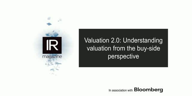 Valuation 2.0: Understanding valuation from the buy-side perspective