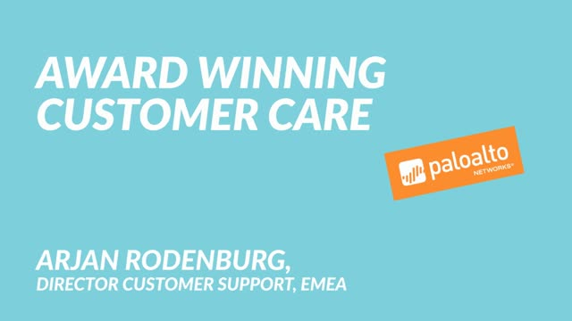Award Winning Customer Care
