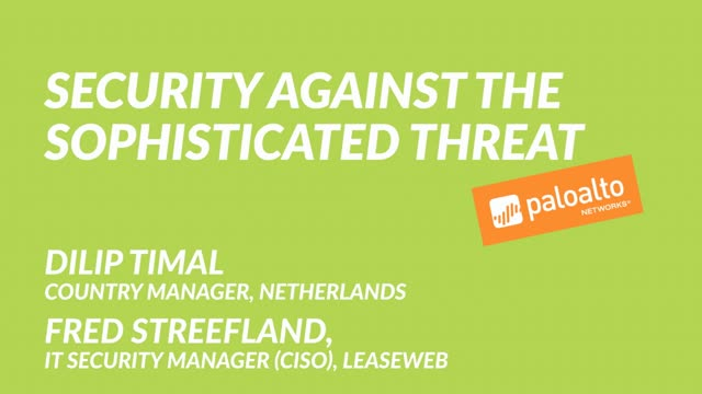 Security Against The Sophisticated Threat