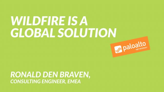 WildFire Is A Global Solution