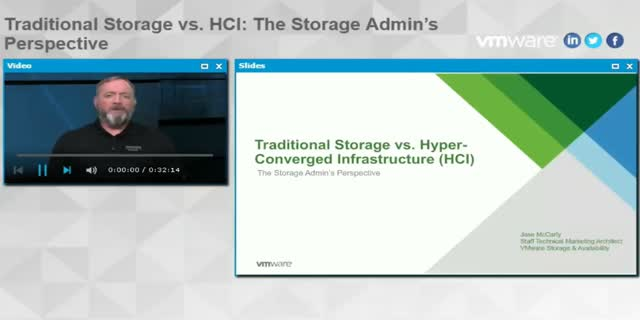 Traditional Storage vs. HCI: The Storage Admin's Perspective