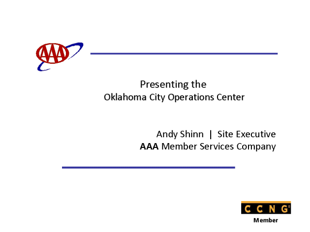 AAA's New Oklahoma City Contact Center Operations