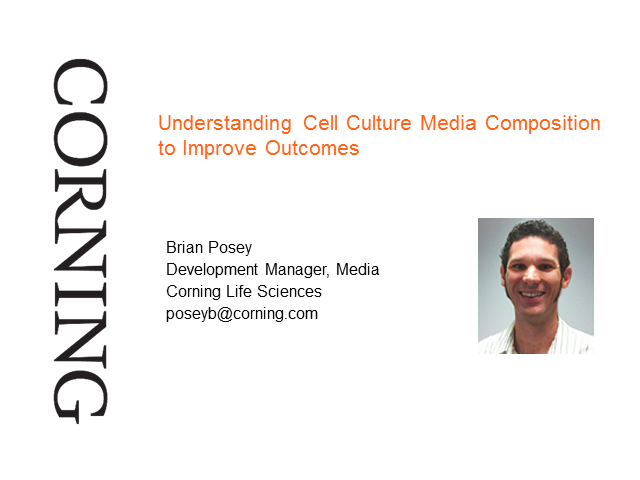 Understanding Cell Culture Media Composition to Improve Outcomes