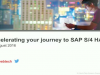 Accelerating your journey to SAP S/4HANA