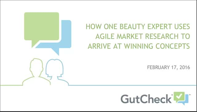 How One Beauty Industry Expert Uses Agile Research To Arrive at Winning Concepts