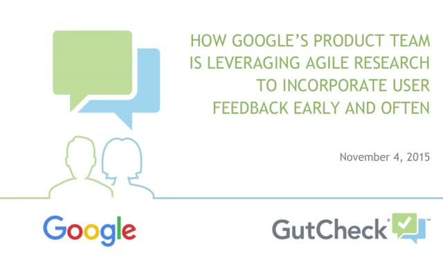 How Google's Product Team Is Leveraging Agile Research