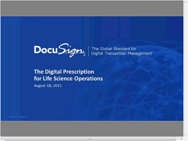 The Digital Prescription for Life Sciences Operations