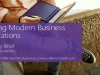 Building Modern Business Applications in a Mobile First, Cloud First Universe
