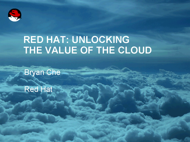 Unlocking the Value of the Cloud