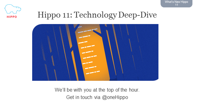 Understanding Hippo onDemand and V11: Technology Deep Dive