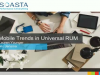 Mobile Trends in Universal RUM Solutions