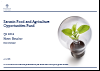 Food & Agriculture Opportunities Q2 2016 update