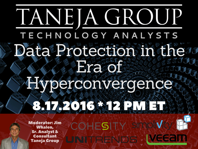 Data Protection in the Era of Hyperconvergence