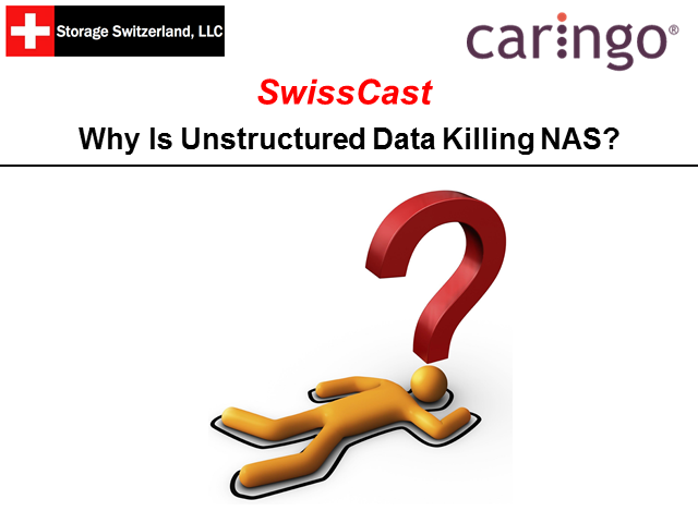 StorageSwiss Podcast Why is Unstructured Data Killing NAS?