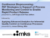 Continuous Bioprocessing: PAT for Process Monitoring & Control to enable RPR