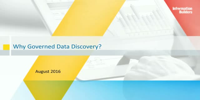 Why Governed Data Discovery?