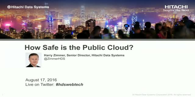 How Safe is the Public Cloud?