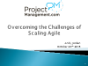 Overcoming the Challenges of Scaling Agile Project Management - 1 PDU