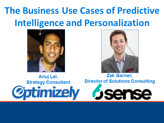 The Business Use Cases of Predictive Intelligence and Personalization