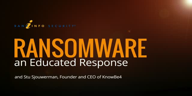 Ransomware - an Educated Response