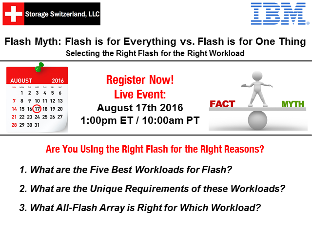 Flash Myth: Flash is for Everything vs. Flash is for One Thing