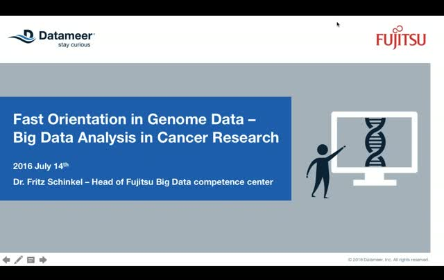 Finding Cures for Cancer with Big Data Genomic Analysis