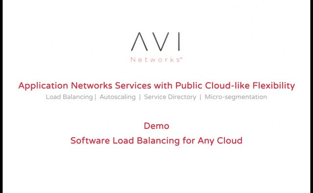 Software Load Balancing for Any Cloud