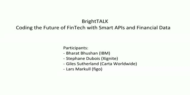 Coding the Future of FinTech with Smart APIs and Financial Data
