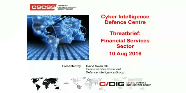 Current Cyber Attack Trends and Forecasts for the Financial Industry