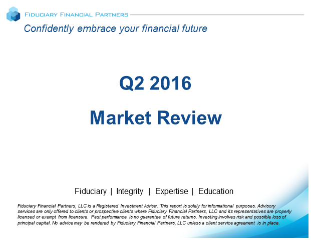 Q2 2016 Market Review