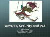 DevOps, Security and PCI - Implementing SCM To Meet PCI Standards