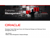 Maximize Weblogic Server ROI with Oracle Enterprise Manager 11g