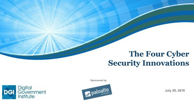 The Four Cyber Security Innovations