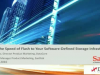 Software-defined Storage at the Speed of Flash