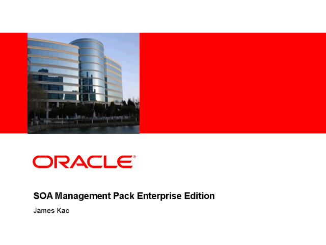 Maximize Oracle SOA ROI with Oracle Enterprise Manager