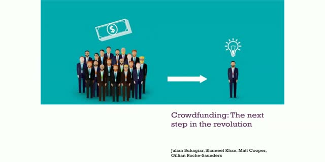 Crowdfunding: The next step in the revolution