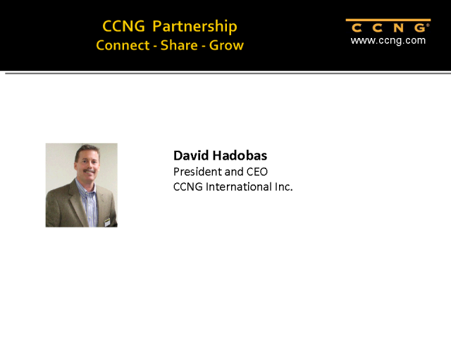 Advantages to Partnering with CCNG