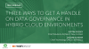 Three ways to get a handle on data governance in hybrid cloud environments